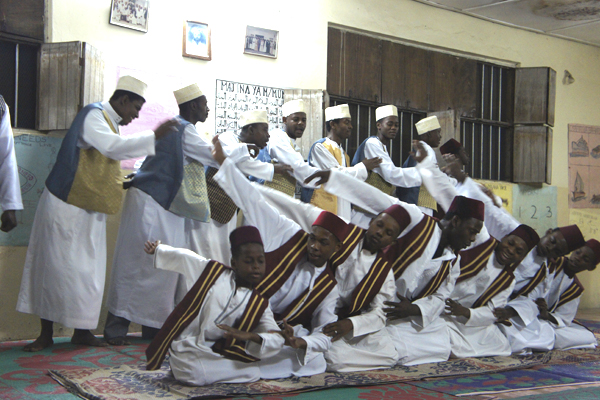 Maulid ya home performance in Zanizbar, Stone Town