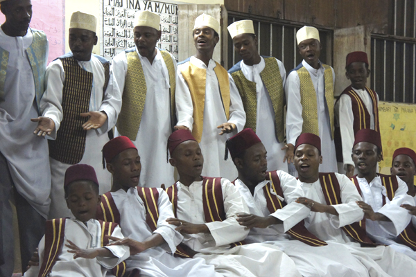 Maulid ya home, sufian ceremony in Zanzibar