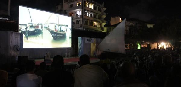 ZIFF Zanzibar International Film Festivals int he Old Fort