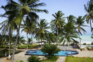 View of Paje beach