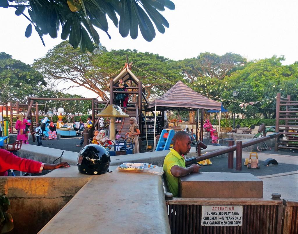 Kids ar Forodhani playground